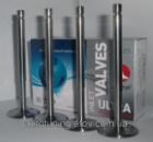 T-образные облегченные клапана (впуск, комплект 4 шт.) AMP (Азот.) ВАЗ 2101-2107, 2121, 21213