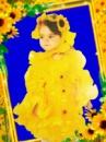 Подсолнух - детский тематический костюм на прокат.