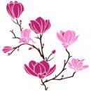 Виниловая Наклейка Glozis Magnolia Pink