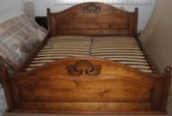 Ліжко деревяне дубове Афродіта 160*200