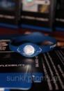 Power Balance стильный браслет энергетик синий с белым, размер S, M, L