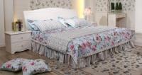 Набор мебели для спальни Анита, кровать 1,5 м (кровать+2 тумбочки)