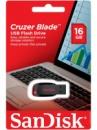 Флешка USB SANDISK Cruzer Blade 16Гб, черный