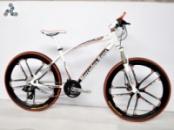 Элитный Велосипед Mercedes M1 White на литых дисках