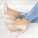 Женские туфли шампань