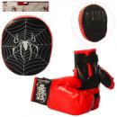 Боксерский набор M2922 перчатки 2шт, 23см лапа, 24см,в кульке