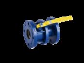 Кран шаровый стальной полнопроходной фланцевый КШ-40 ЭТОН (11с67п) Ду40 Ру16