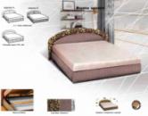 Кровать «Карина» с матрасом