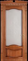 Дверное полотно остекленное Ольха № 33, 2000*40*600,700,800,900 мм.Цвет -орех.|escape:'html'