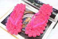Лёгкие вьетнамки женские для пляжа или бассейна, цвет розовый