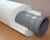 Теплоизоляционная скорлупа для труб пенопластовая