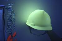 Светящийся в темноте защитный шлем