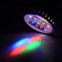 LED фито лампа 10W для роста растений цоколь Е27 (полный спектр)