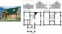Проект деревянного дома 92.6 м2|escape:'html'