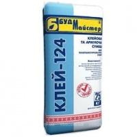 Клей-124, для крепления и армирования сеткой фасадных минерало/стекловатных, базальтовых и пенополистирольных плит, 25 к|escape:'html'