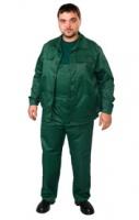 Костюм рабочий, куртка и полукомбинезон, т.синий, т.зеленый|escape:'html'