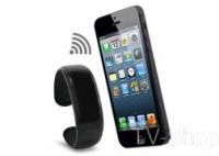 Bluetooth браслет з вібровикликом, годинником, mp3 плеєром, противтрата|escape:'html'