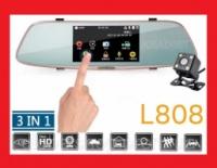 DVR L808 Full HD 5« сенсорный экран. Зеркало заднего вида с видео регистратором|escape:'html'