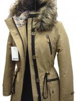 Модная зимняя куртка-парка Песок|escape:'html'