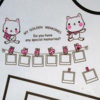РАСПРОДАЖА! Виниловая наклейка - Hallo kitty рамки для фото