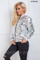 Куртка женская короткая 01578 Аф Код 645617975  продажа 26076dd650ce9
