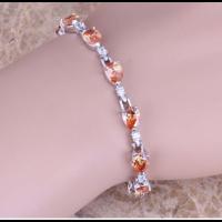 Очаровательный женский браслет на руку с морганитом|escape:'html'