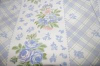 ткани для постельки «розочки голубые»|escape:'html'