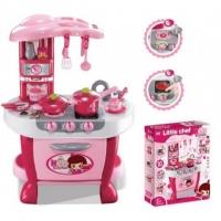 Детская игрушечная кухня с набором посуды «Маленькая умница»|escape:'html'