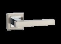 Ручка дверная LINDE Z-1290 SN/CP *LOFT*