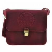 Женская кожаная сумка виноградная|escape:'html'