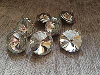 Пуговицы с кристаллами «Алмазная Роза» 25 мм|escape:'html'
