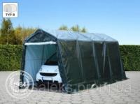 Палатка гараж 2,4x6,2м тент для хранения, зеленый