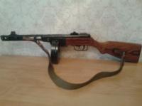 Макет пистолет-пулемет Шпагина, (ППШ-41), 1943 год