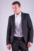 Пиджак мужской классический AG-0000318 Черный|escape:'html'