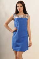 Платье Бренди, синий escape:'html'