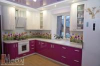 Кухни c крашеными МДФ фасадами