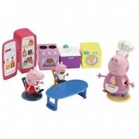 Игровой набор Peppa - КУХНЯ ПЕППЫ (кухонная мебель и техника, 3 фигурки) от Peppa - под заказ