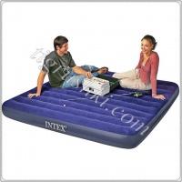 Надувной матрас Classic Downy Airbeds Intex (152х203х22см) № 68759|escape:'html'