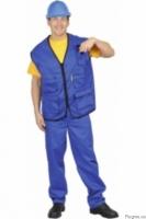 Комплект рабочий, работника СТО, заправщиков, жилет и брюки|escape:'html'