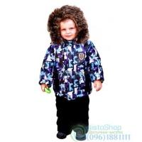 Зимний полукомбинезон и куртка рост от 92 до 110 см