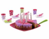 Набор детской посуды «С Днем Рождения» с тортом, 26 аксессуаров|escape:'html'