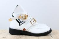 Женские ботинки, кожаные, на ремнях|escape:'html'