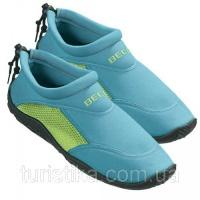 Тапочки для плавания и серфинга BECO бирюзовый/зелёный 9217 668|escape:'html'