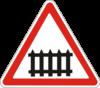 Предупреждающие знаки  1.27(Железнодорожный переезд сo шлагбаумом)|escape:'html'