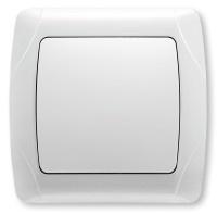 Vi-Ko 1-й выключатель ВН (CARMEN БЕЛАЯ)