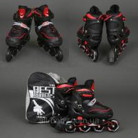 Роликовые коньки (ролики) Best Rollers 5700 «S, M » красные|escape:'html'