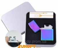Электроимпульсная зажигалка в подарочной упаковке (USB) №XT-4887-2 Код:627505852|escape:'html'