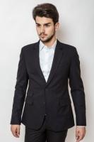 Пиджак мужской классический на двух пуговицах AG-0000160 Темно-синий