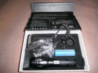 Подствольный фонарь Police BL-QC1831 Cree T6 9000W|escape:'html'