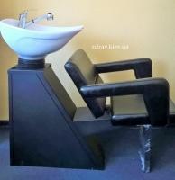 Мойка парикмахерская с креслом ZD-83 escape:'html'